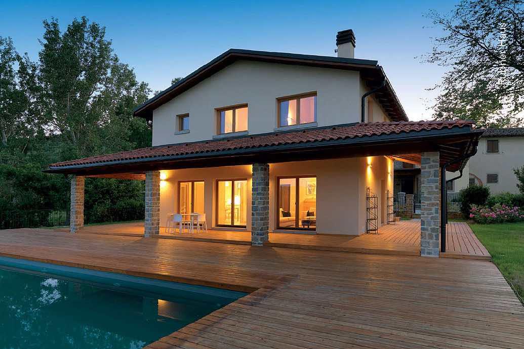 Costo di una casa prefabbricata conviene la scelta ecologica - Costo di una casa in legno ...
